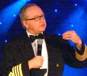 Captain Mark Dexter has been master of the Seabourn Odyssey for four years