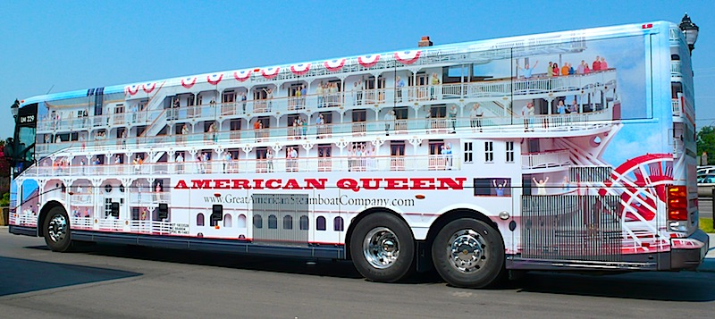 steamcoaches add to american queen shore stop excursions