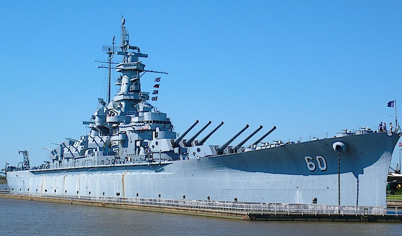 Our First Shore Visit The Uss Alabama Battleship Memorial