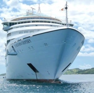 The Seabourn Odyssey is a luxury yacht