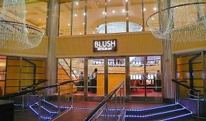 The Blush Restaurant will be our dining room for the week on the Carnival Breeze.