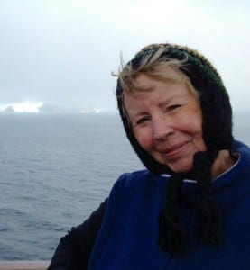 Judy Zimmerman on Azamara Quest-Antarctica