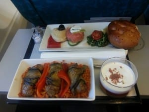 Turkish specialties on board Turkish Airlines