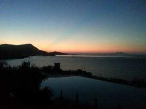 Sunrise over the Aegean