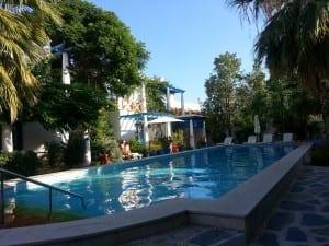 Pool at Su hotel