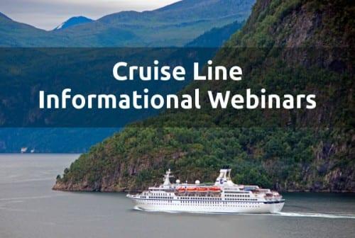 Cruise Line Information Webinars