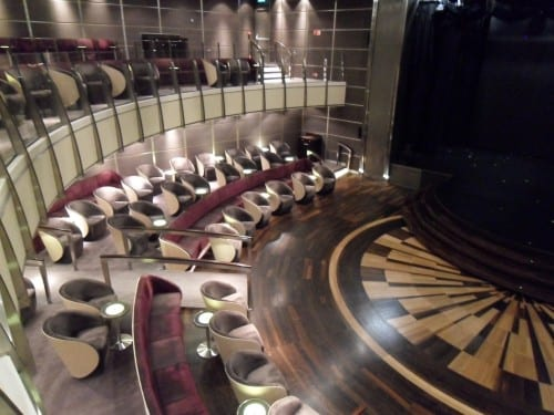 The Theatre or main show lounge offers nightly entertainment.
