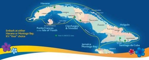 Courtesy of Cuba Cruises