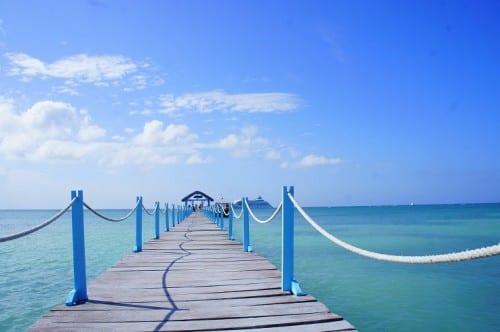 Punta Frances dock.
