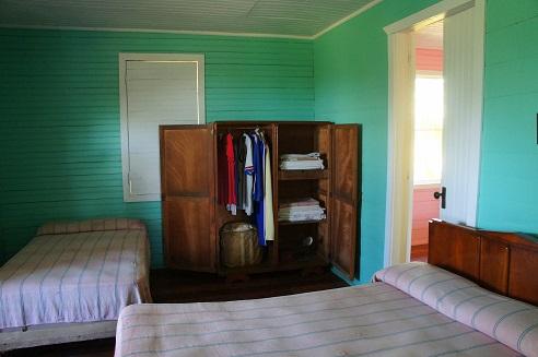 Fidel Castro's boyhood bedroom in Biran