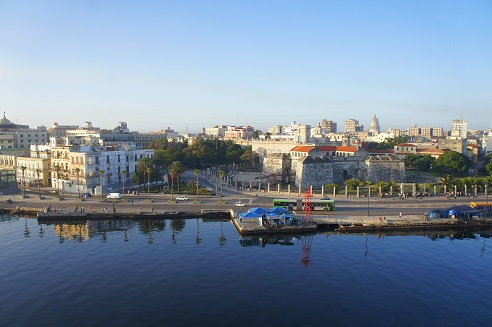 The harbour of Havan, early morning