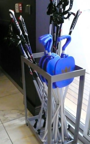 Walking aids are provided free aboard the AmaCerto.