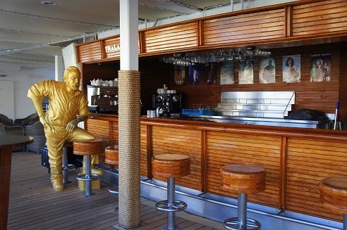The Hemingway themed Thalasso Bar