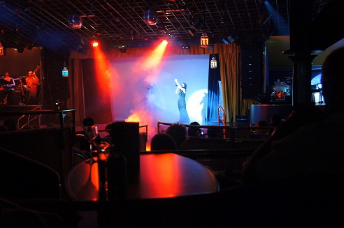 entertainment in Muses Lounge