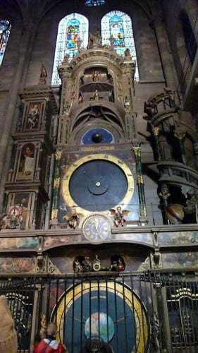 Considered a mathematical marvel, the Astronomical Clock is huge.