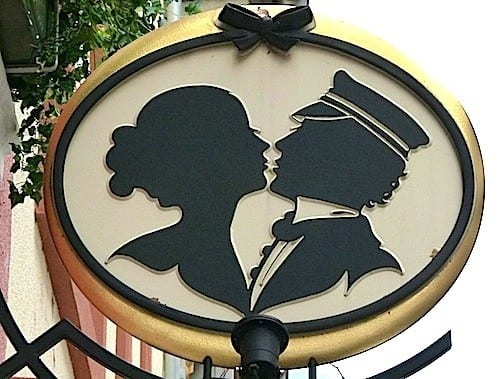 The famous Heidelberg Student Kiss was created in the 1800s.