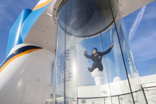 Sky-diving on Quantum of the Seas