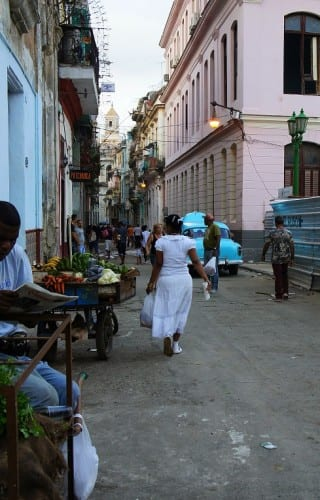 The old city of Havana