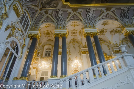 Staircase in the Winter Palace