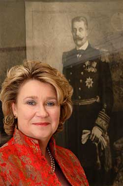 Princess Anita von Hohenberg to christen line's newest Super Ship in Europe this spring  (Photo courtesy of Uniworld Boutique River Cruise Collection)
