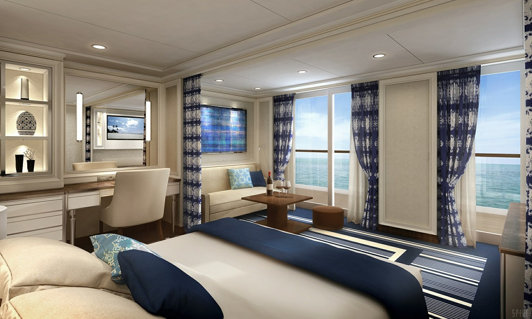 Regent Seven Seas Explorer To Feature 10 Suite Categories