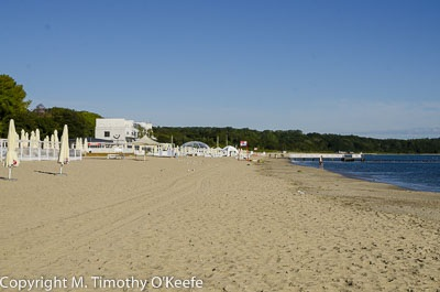 Sopot Beach is a lot more impressive when you stand on