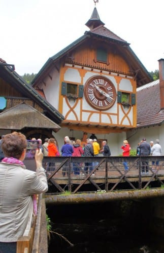 this is the largest cuckoo clock in the world.