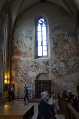 The church in Breisach has some brilliant murals.