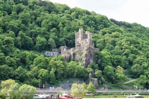 a private cruise along the Rhine allows us to see many of the villages that we would have passed on the ship's cruise.