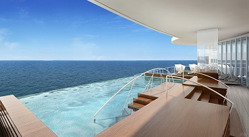 Rendering of Spa Exterior (Courtesy of Regent Seven Seas Cruises)