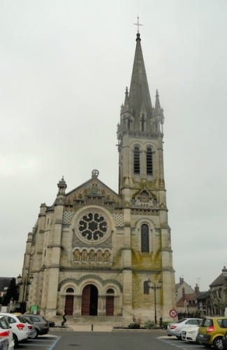Church of Saint Etienne in Briare.