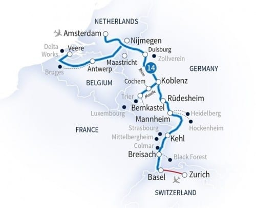 2015 Scenic cruise route