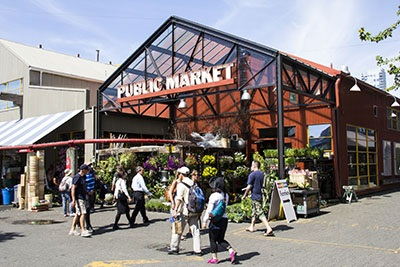 Public Market on Granville Island, Vancouver, BC