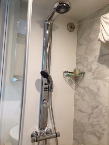 Very fancy shower heads