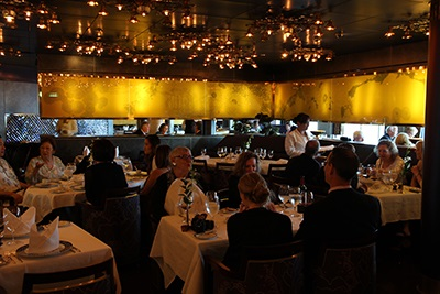 Pinnacle Grill is one of Noordam's two specialty restaurants.  It features  Pacific Northwest cuisine in an intimate seeting.