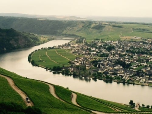 The gorgeous Moselle River