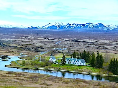 Þingvellir National Park is one of the most important historic sites in Iceland.