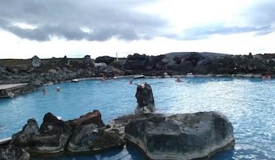 Myvatn Nature Baths is a new facility on an historic lagoon.
