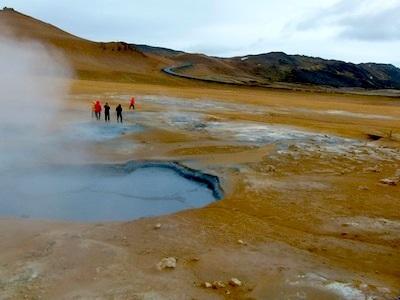 Hverir is famous for its Martian-like landscape.