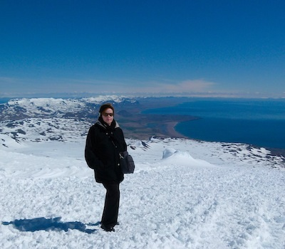 Yes, I really was there on this magnificent glacier.