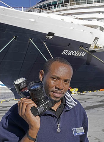 Eurodam  photographer  (Image Creator) Gary Carruthers from Jamaica.