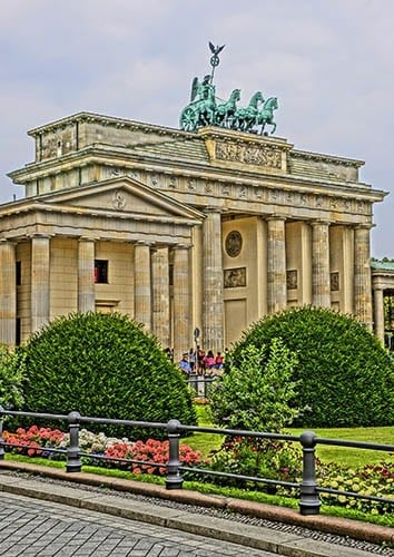 Berlin's Brandenburg Gate.