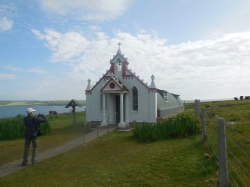 The Italian Chapel in the Orkney Islands