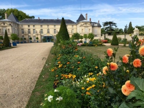 "Site of our last cruise excursion --""Malmaison,"" Josephine Bonaparte's home and garden outside Paris."
