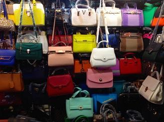 Bags, bags, bags, fakes, fakes, fakes.