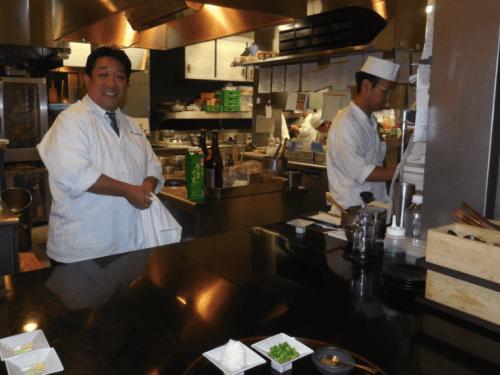 Conrad Tokyo Chef Masanobu Inaba