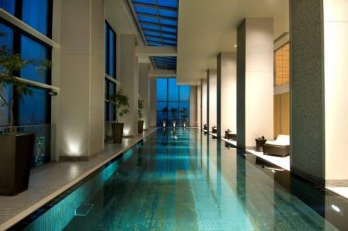 Swimming Pool at Conrad Tokyo