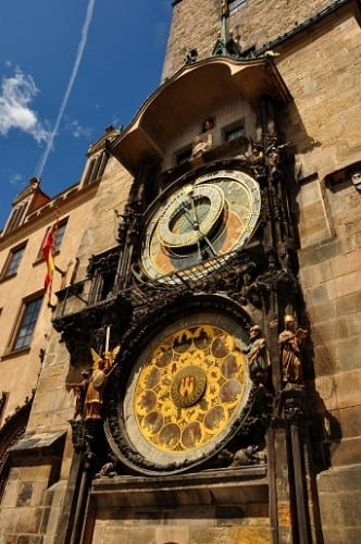 The Astronomical Clock on Prague's Old Town Square has charted the passage of time since the Middle Ages.