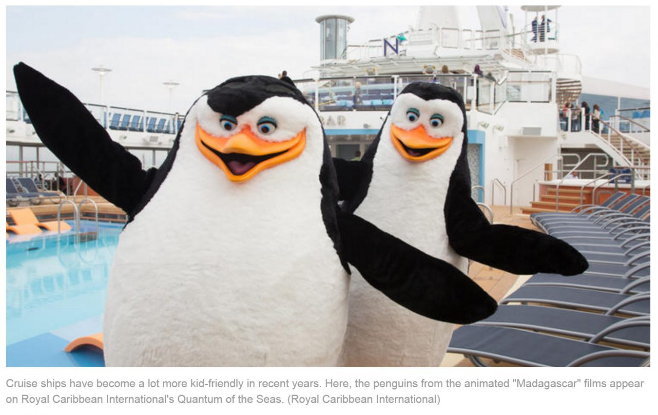 2016 Family Friendly Cruise Travel Planner Receives La