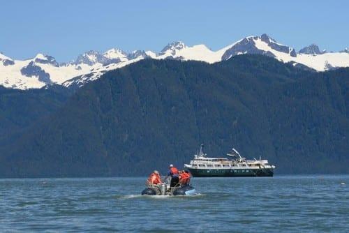 Wilderness Adventurer, skiff (photo courtesy of Un-Cruise Adventures)
